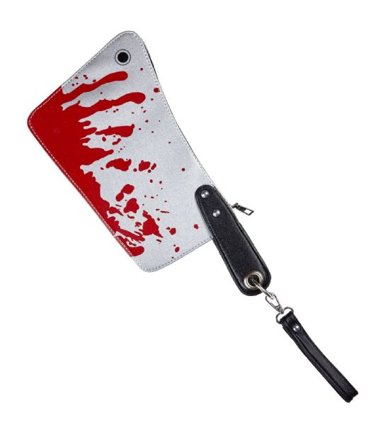 BLOODY CLEAVER PURSE Accessory Halloween Fancy Dress